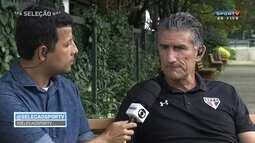 """Edgardo Bauza sobre Ganso: """"Não há muitos jogadores como ele. Tem muito talento"""""""