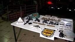 Polícia Militar prende homens suspeitos de tráfico de drogas em BH