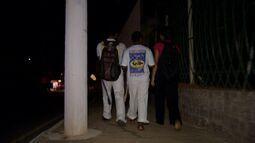 Pessoas reclamam da falta de iluminação em viaduto de Cuiabá