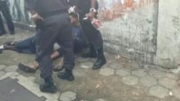 Polícia recupera carro roubado e prende bandidos em Botafogo