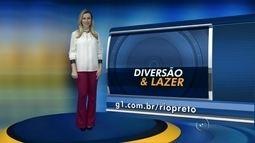 Veja as atrações da agenda cultural para o fim de semana na região de Rio Preto