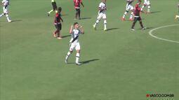 Os gols de Vasco 2 x 1 Flamengo pela Campeonato Carioca de juniores