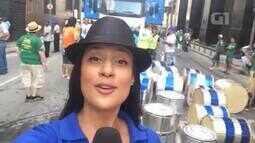 G1 acompanha desfile do Monobloco que encerra o carnaval 2016, no Rio