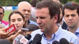 Eduardo Paes diz que remo poderá ser visto de graça nas Olimpíadas de 2016