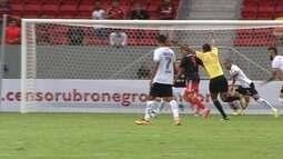 Os gols de Flamengo 1 x 1 Figueirense na Primeira Liga