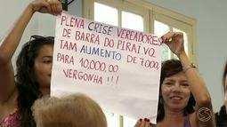 Moradores reclamam de projeto que quer aumentar salário de vereadores de Barra do Piraí