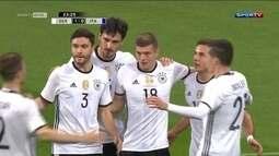 Alemanha e Portugal vencem em amistosos