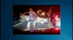 Acidente deixa quatro feridos na AMG-0335 que liga Divinópolis ao Bairro Ermida
