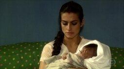 Surya fica decepcionada ao descobrir que falso filho é menina