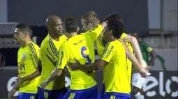 Os gols de Caldense 1 x 2 Ponte Preta pela 1ª fase da Copa do Brasil