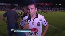 Entrevista: Juca do Operário-PR diz que tem que jogar no contra-ataque no jogo de volta