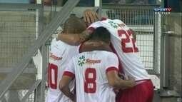 O gol de Operário VG 1 x 0 Avaí pela primeira fase da Copa do Brasil