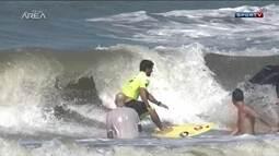 Surfistas buscam diferentes gerações para uma grande festa ao Surfe na Praia da Guarita