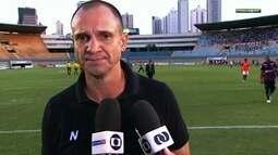 Wagner Lopes avalia que Anápolis foi melhor que o Atlético-GO e mereceu avançar