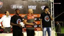 Vitória na TV - Veja a apresentação dos novos reforços; Dagoberto, Kieza e Victor Ramos