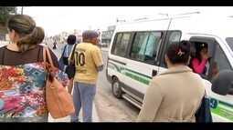 Moradores da Baixada Campista têm a rotina afetada com a greve dos rodoviários