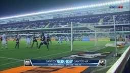 William Machado analisa vitória do Santos sobre o Santos-AP pela Copa do Brasil