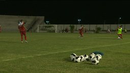 Veja detalhes do treino do Campinense para final da Copa do Nordeste