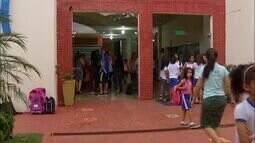 Pais estão preocupados com a demora nos exames de crianças que passaram mal em escola
