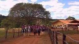 """""""Cavalgada dos Primos"""" reúne família em Bela Vista de Goiás"""