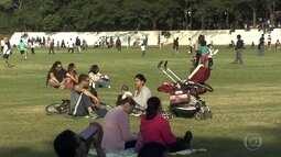 Parque Chácara do Jockey é o mais novo espaço de lazer na capital