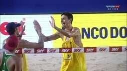 André e Oscar vencem e estão na final do Circuito Brasileiro de Vôlei de Praia