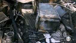 Trezentos moradores da favela da Capadócia perderam suas casas em um incêndio