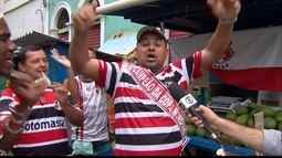 Tricolores celebram título da Copa Nordeste no Recife