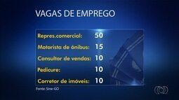 Sine oferece mais de 100 vagas de emprego nesta terça-feira (3), em Goiás