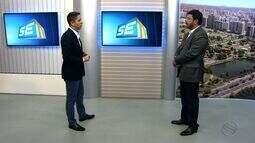 Valmor Barbosa, Secretário de Estado da Infraestrutura, participa do SETV 1ª Edição