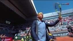 Hot Shot do dia: Rafael Nadal no Masters 1000 de Madrid