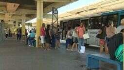 Após greve, duplas de PM's começam a atuar em terminais de ônibus no ES
