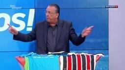 Galvão Bueno critica a ausência do presidente da CBF, Del Nero, na Copa América