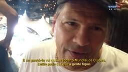 Pai de Calleri diz que jogador vai querer ficar para o Mundial se ganhar a Libertadores