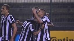 O gol de Botafogo 1 x 0 Juazeirense pela 2ª fase da Copa do Brasil