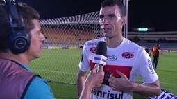 Diogo Oliveira lamenta derrota no fim da partida