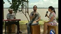 Leonardo Gonçalves é a atração musical do É do Pará, deste sábado