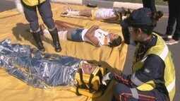 Simulado de acidente acontece em Boa Vista