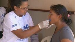 Município de Bonfim recebe os serviços da Ação Global