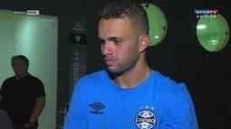 Autor de dois gols contra o Galo, Luan diz que procura demonstrar tranquilidade em campo