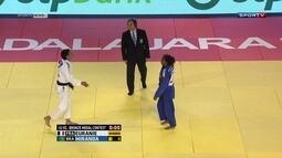 A nata do judô brasileiro participa de torneio antes da definição da equipe olímpica