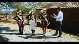 Taís Soares ostenta o título de Rainha do Rodeio da Divinaexpô em Divinópolis