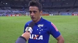 """Robinho diz que confusão no fim da partida """"faz parte do jogo"""", e lamenta empate"""
