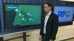 Ciclone extratropical traz chuva para o estado