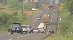 Apesar do intenso movimento nas rodovias de MS, número de acidentes está baixo
