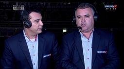 Luiz Ademar destaca mérito de Argel em vitória do Inter sobre o Santos
