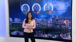 Semana começa com chuva na capital baiana
