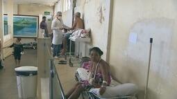 Direção do Hospital de Emergências fala sobre vídeo da criança a espera no chão