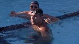 Felipe França é ouro nos 100m peito, no Mare Nostrum de natação