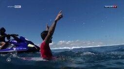 Gabriel Medina bate Wilko e vence a etapa das Ilhas Fiji do Mundial de Surfe